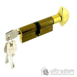 Цилиндр дверной  AGB SCUDO 600 ключ-тумблер, 90 мм