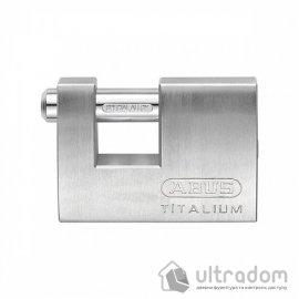 Замок навесной ABUS 98TI/90, плоский ключ