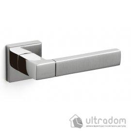 Ручка дверная Olivari  PLANET Q хром глянцевый/матовый