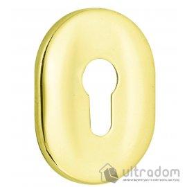 Декоративная накладка для цилиндра Mul-T-Lock A618 латунь PVD