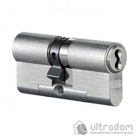 Цилиндр дверной EVVA 4KS DZ ключ-ключ, 127 мм
