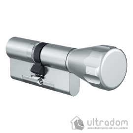 Цилиндр дверной EVVA 4KS ключ-вороток, 82 мм