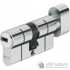 Цилиндр Abus KD6 PS  ключ-тумблер, 100 мм.,  никель  матовый