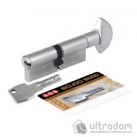 Цилиндр дверной AGB SCUDO 5000 PS ключ-тумблер, 60 мм