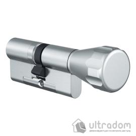 Цилиндр дверной EVVA 4KS ключ-вороток, 77 мм