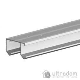Направляющая рельса Valcomp Horus для подвесной раздвижной системы шкафа - купе 1,2 м (214-138)
