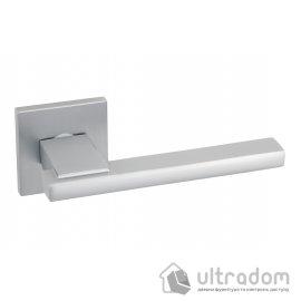Ручка дверная на розетке SIBA TITUS матовый хром (AT74 0 55 55)