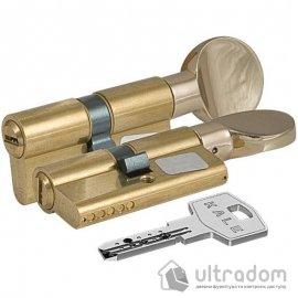 Цилиндр дверной KALE 164  BM ключ-тумблер, 71 мм