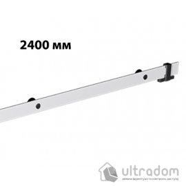 Направляющая рельса 2400 мм Mantion ROC Design в стиле LOFT, матовая белая
