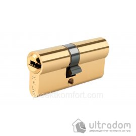 Цилиндр дверной KALE 164  BNE ключ-ключ 80 мм