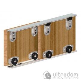 Набор фурнитуры Valcomp ARES 2 для 2-ух дверей шкафа-купе