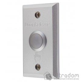YLI Кнопка выхода ABK-800A врезная, алюминий