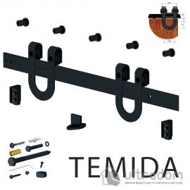 Valcomp TEMIDA комплект раздвижной системы для дверей в стиле LOFT