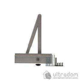 Дверной доводчик  GEZE TS2000 V BC EN2/3/4/5, серебристый (TS2000VBC S)