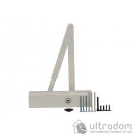 Дверной доводчик  GEZE TS2000 V BC EN2/3/4/5, белый (TS2000VBC W)