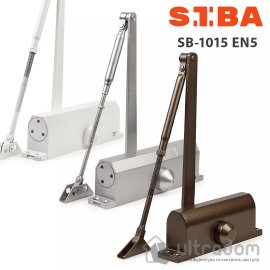 Доводчик двери SIBA EN5 80-120 кг