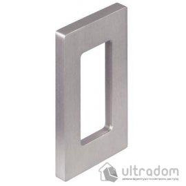 Ручка-ракушка для стеклянных дверей HAFELE, накладная прямоугольная