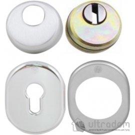 Securemme Комплект броненакладок для  цилиндра (овальная)