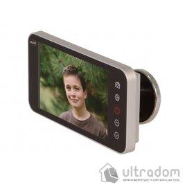 """AMIG Видеоглазок с функцией записи, дисплей 4,0"""" HD"""