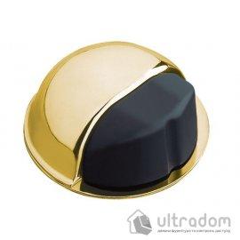Amig Ограничитель дверной самоклеящийся mod.400 золото полированное